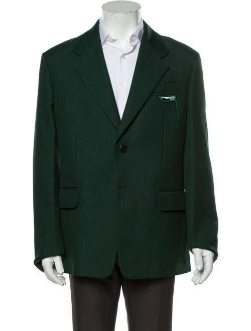 Prada Blazer Green