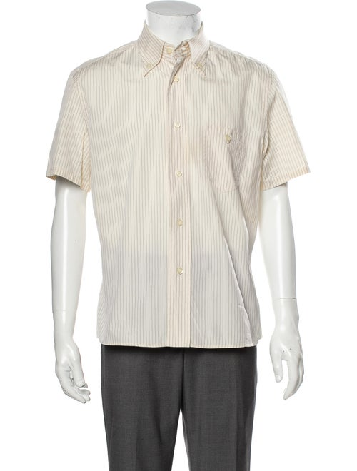 Prada Striped Short Sleeve Shirt