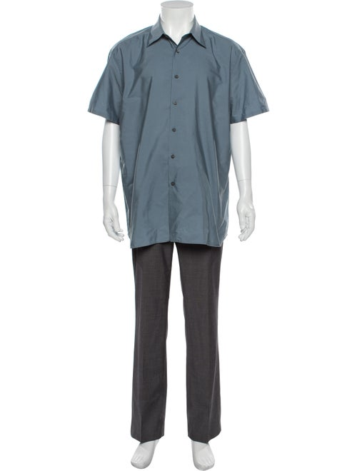 Prada Short Sleeve Shirt Blue