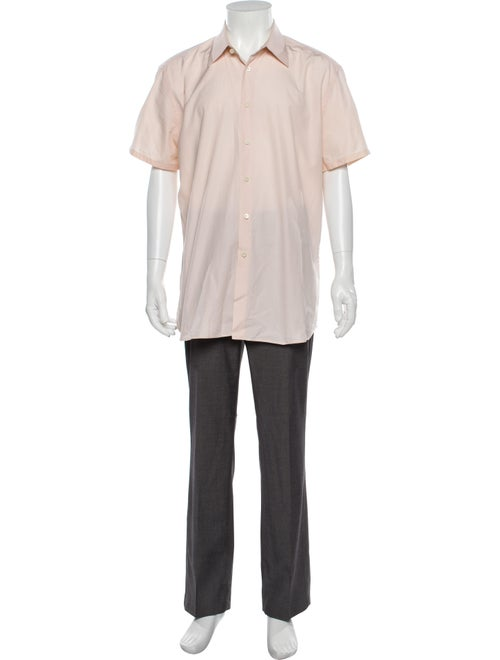 Prada Short Sleeve Shirt Pink