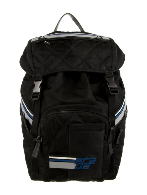 Prada Nylon Backpack Black