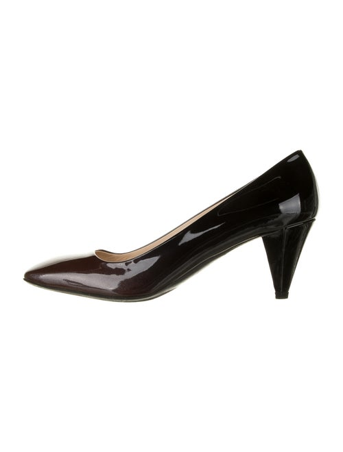 Prada Patent Leather Pumps Metallic