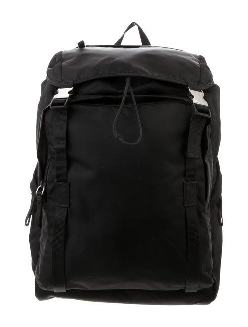 Prada Nylon Travel Backpack Black