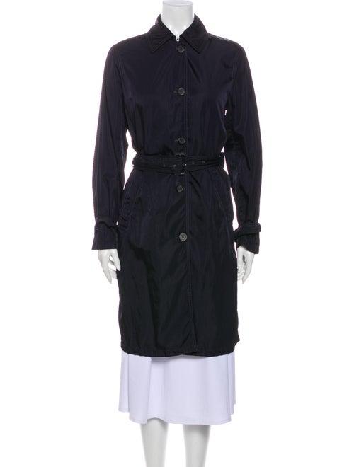 Prada Trench Coat Blue