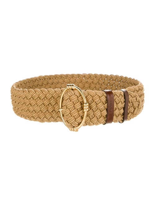 Prada Belt Gold