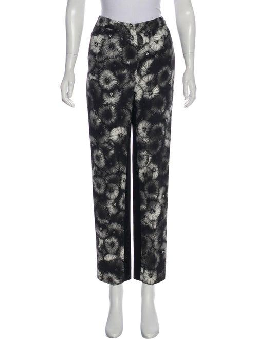 Prada 2013 Printed Pants Black