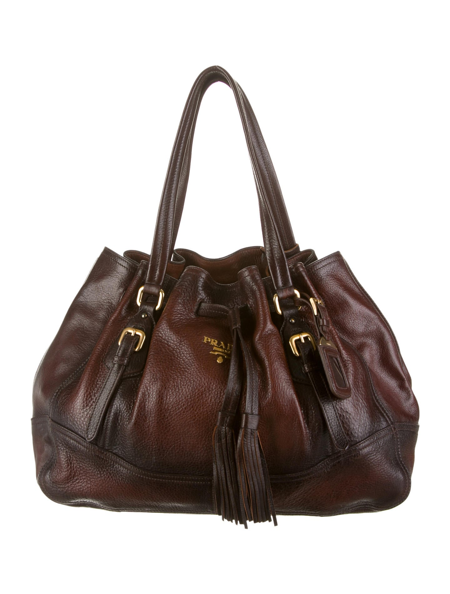 fd0143a63abf Prada Cervo Antik Bag - Handbags - PRA46337 | The RealReal