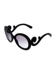 Prada Oversize Gradient Sunglasses