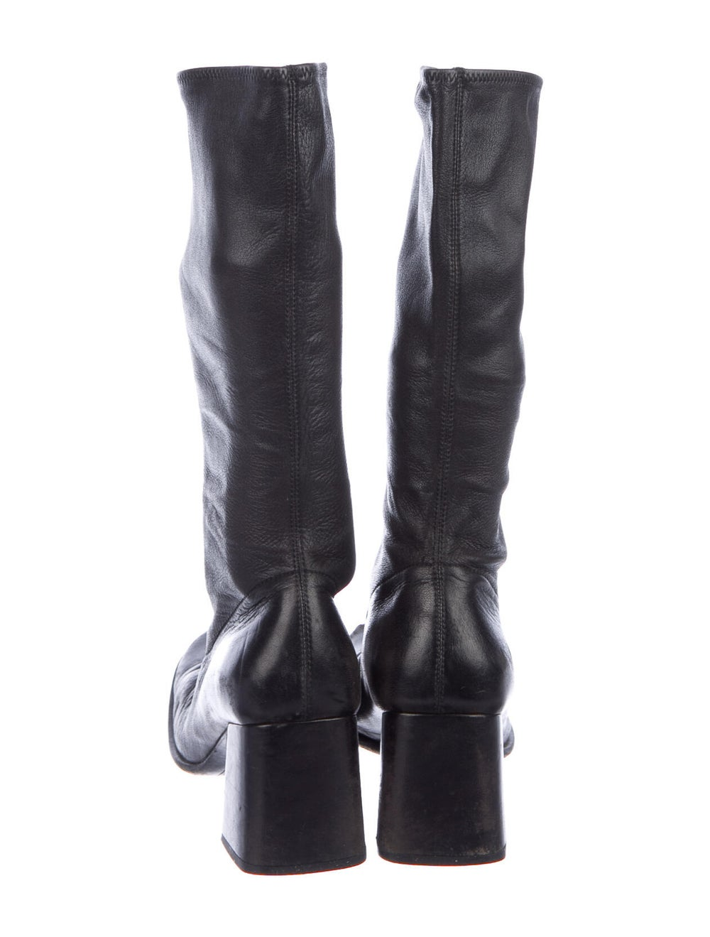 Prada Leather Boots Black - image 4