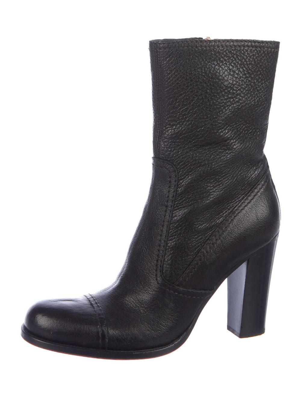 Prada Leather Boots Black - image 2