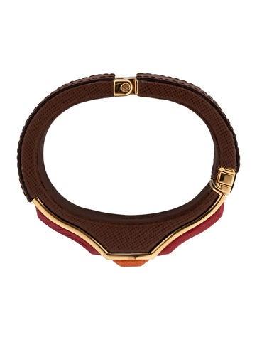 Saffiano Cuff Bracelet