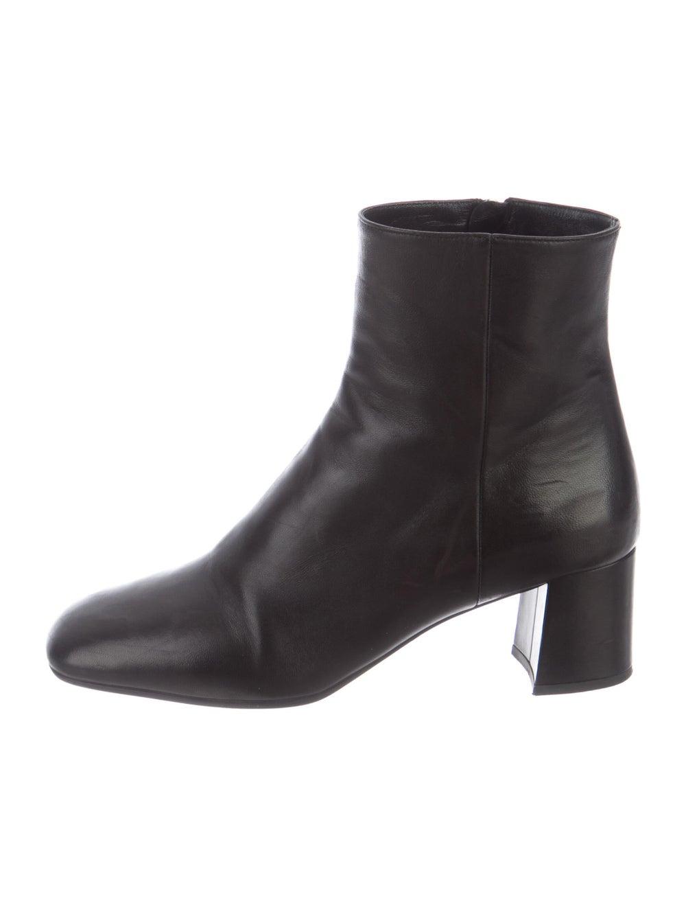 Prada Leather Boots Black - image 1