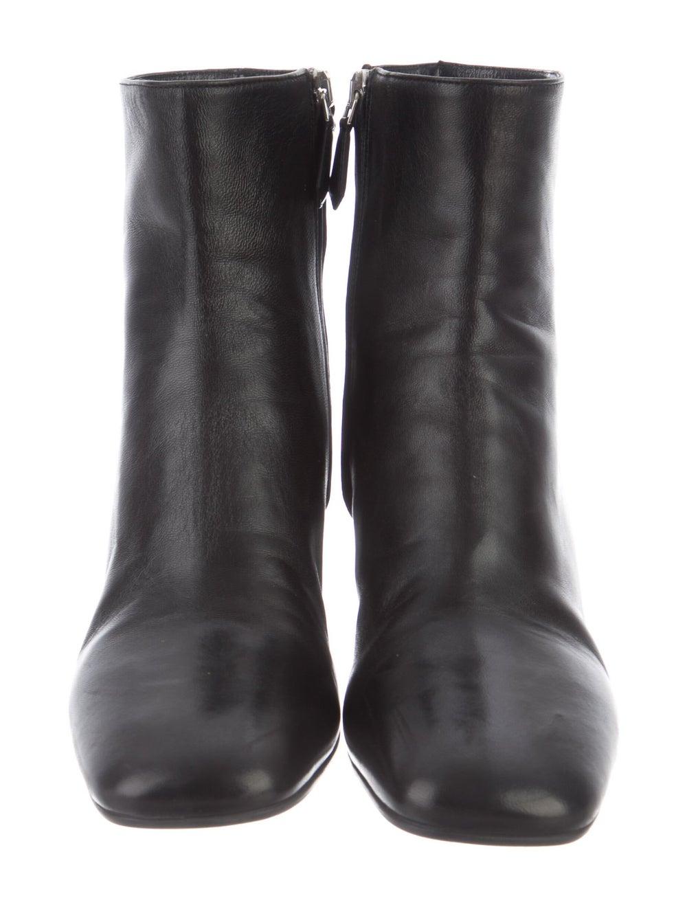 Prada Leather Boots Black - image 3