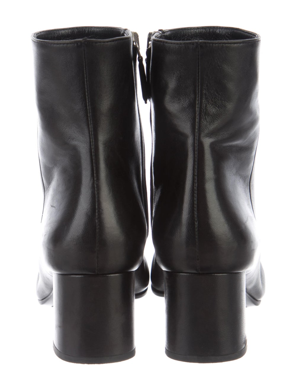 Prada Leather Boots Black - image 4