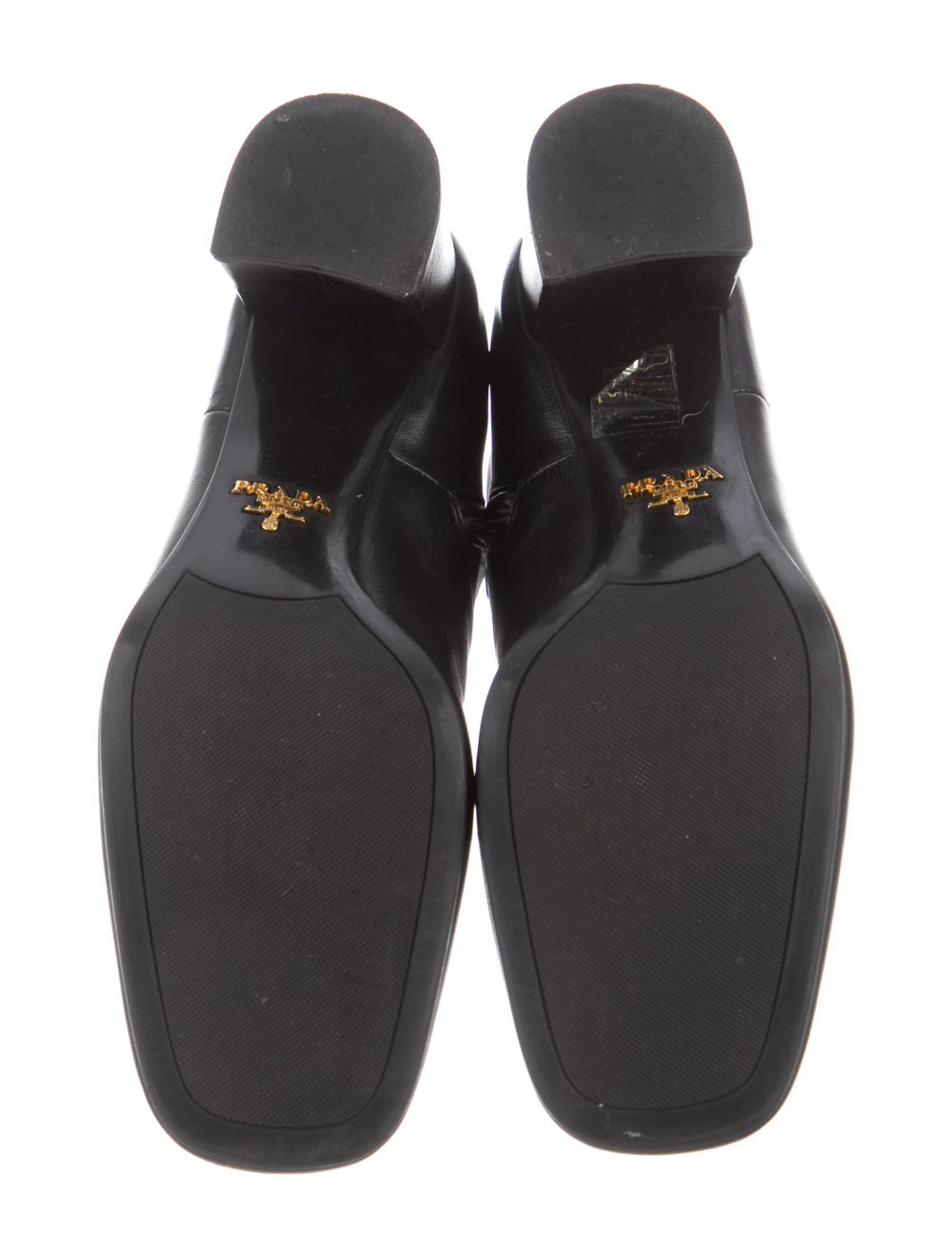 Prada Leather Boots Black - image 5