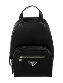 Prada Saffiano Travel One Shoulder Crossbody Backpack