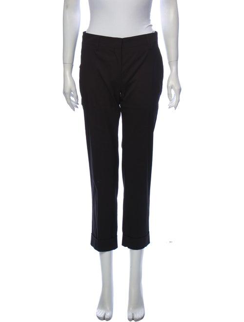 Prada Straight Leg Pants Black - image 1