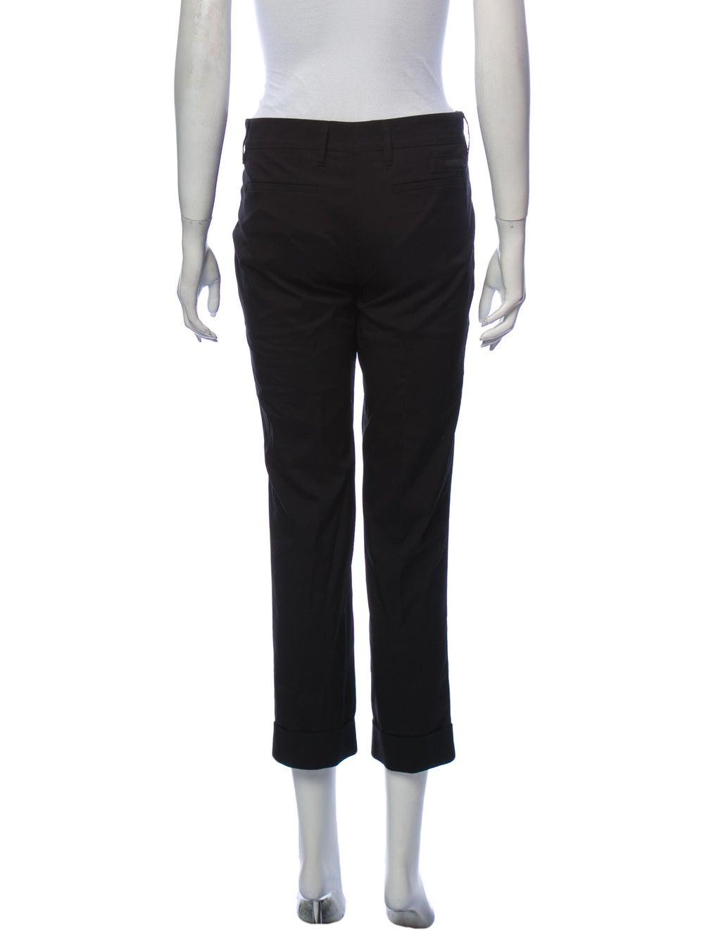 Prada Straight Leg Pants Black - image 3