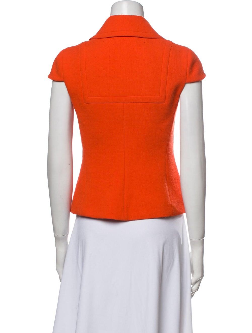 Prada Virgin Wool Short Sleeve Polo Wool - image 3