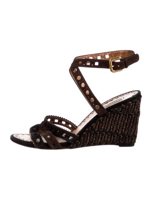 Prada Leather Espadrilles Black - image 1