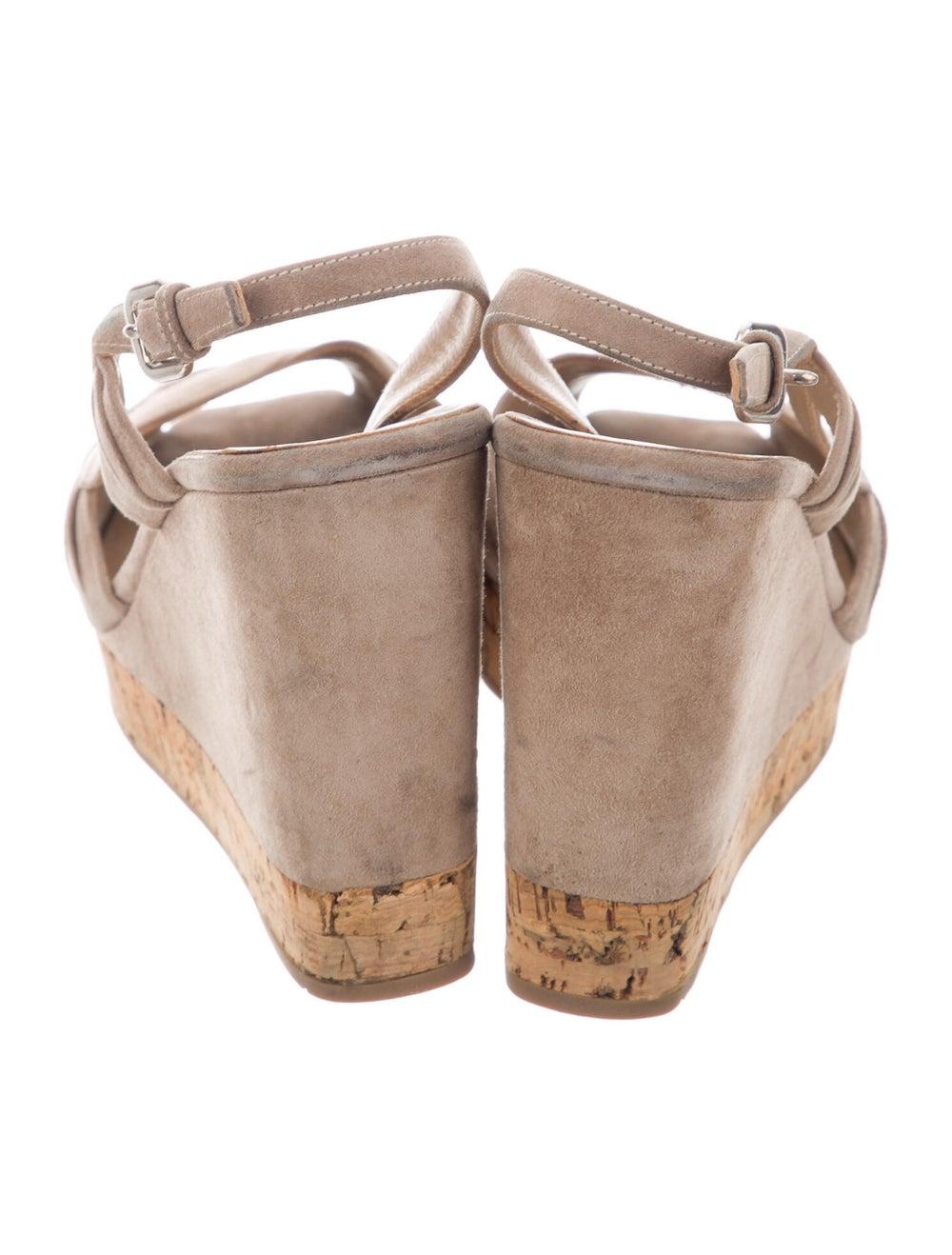 Prada Suede Slingback Sandals - image 4