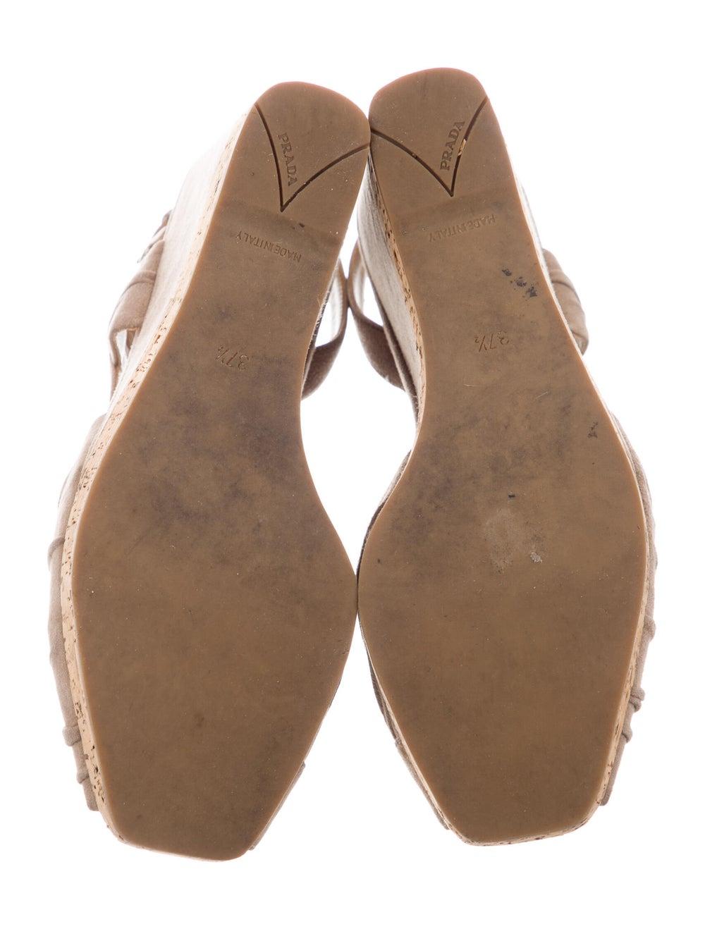 Prada Suede Slingback Sandals - image 5