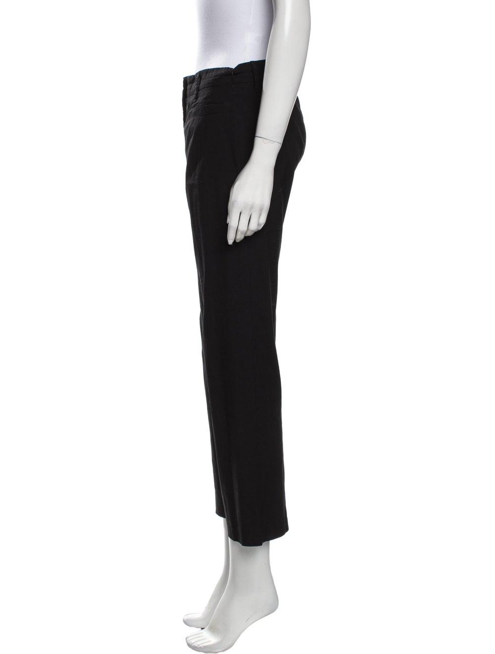 Prada Straight Leg Pants Black - image 2