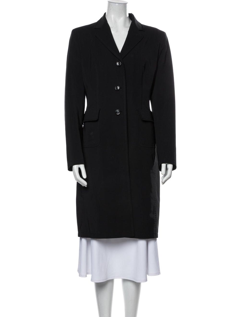 Prada Vintage 1990's Coat Black - image 1