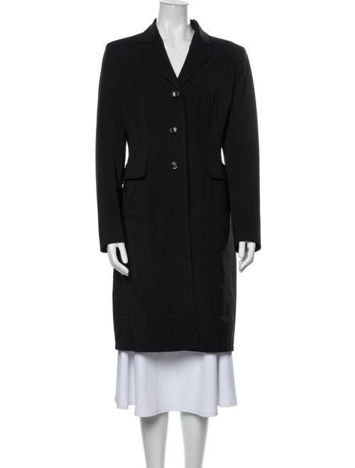 Prada Vintage 1990's Coat Black