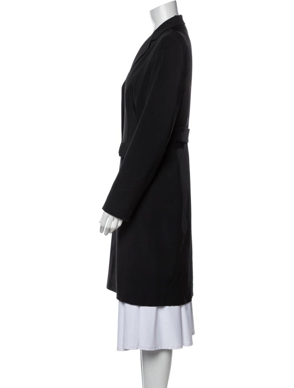 Prada Vintage 1990's Coat Black - image 2
