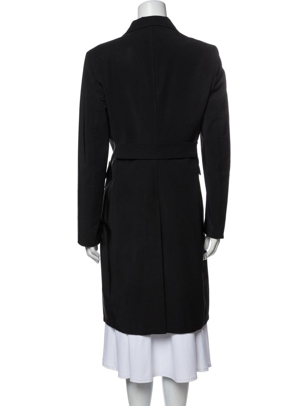 Prada Vintage 1990's Coat Black - image 3