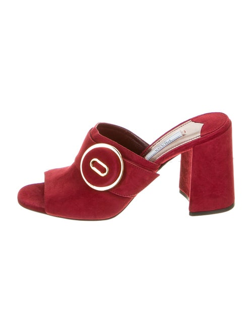 Prada Suede Sandals - image 1
