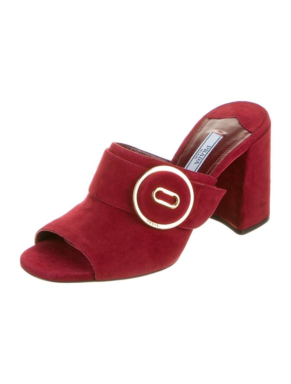 Prada Suede Sandals - image 2