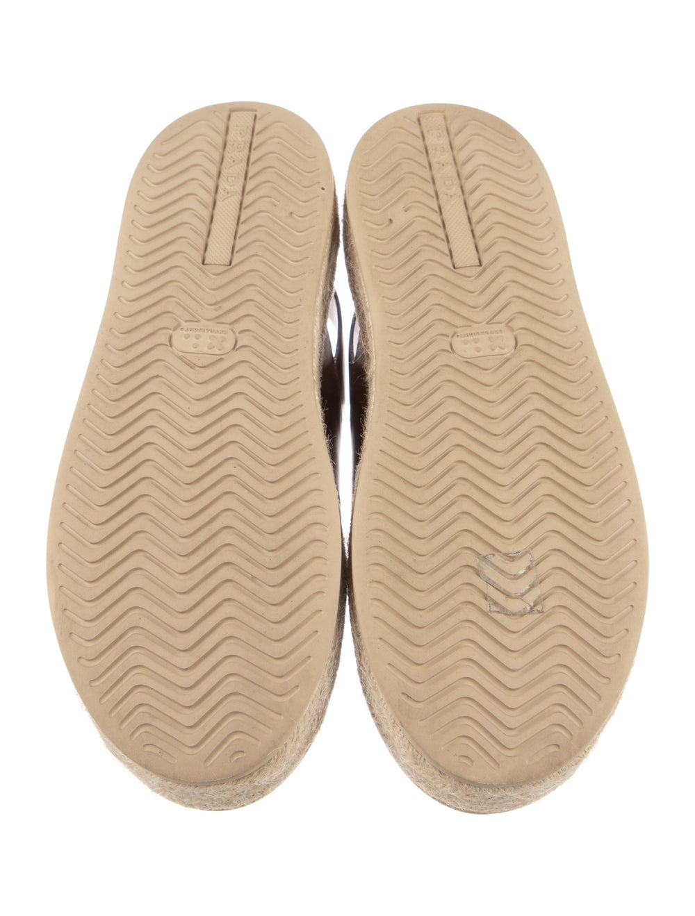 Prada Leather Espadrilles Brown - image 5
