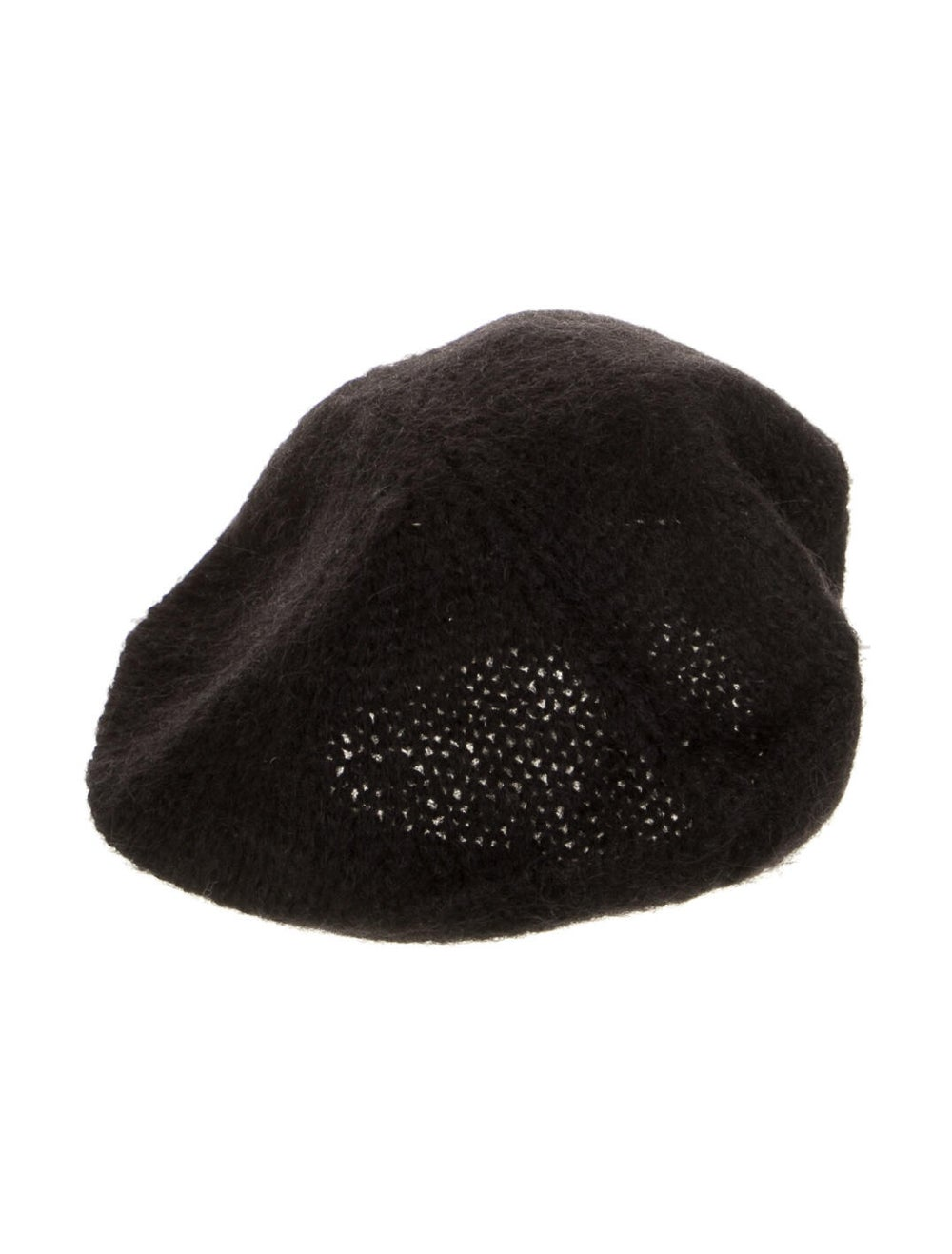 Prada Beret Hat Black - image 1