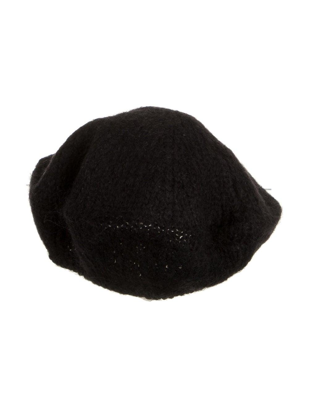 Prada Beret Hat Black - image 2
