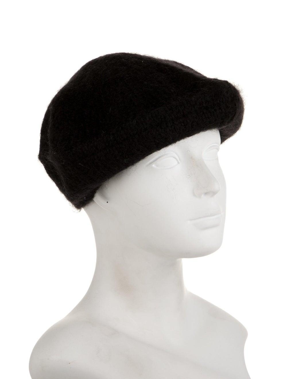 Prada Beret Hat Black - image 3