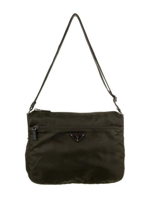 Prada Tessuto Messenger Bag Green - image 1