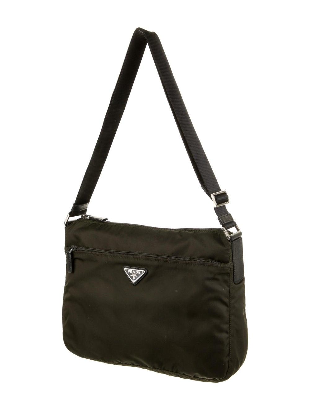 Prada Tessuto Messenger Bag Green - image 3