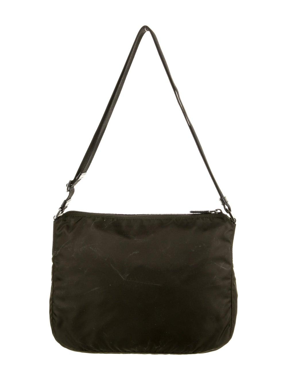 Prada Tessuto Messenger Bag Green - image 4