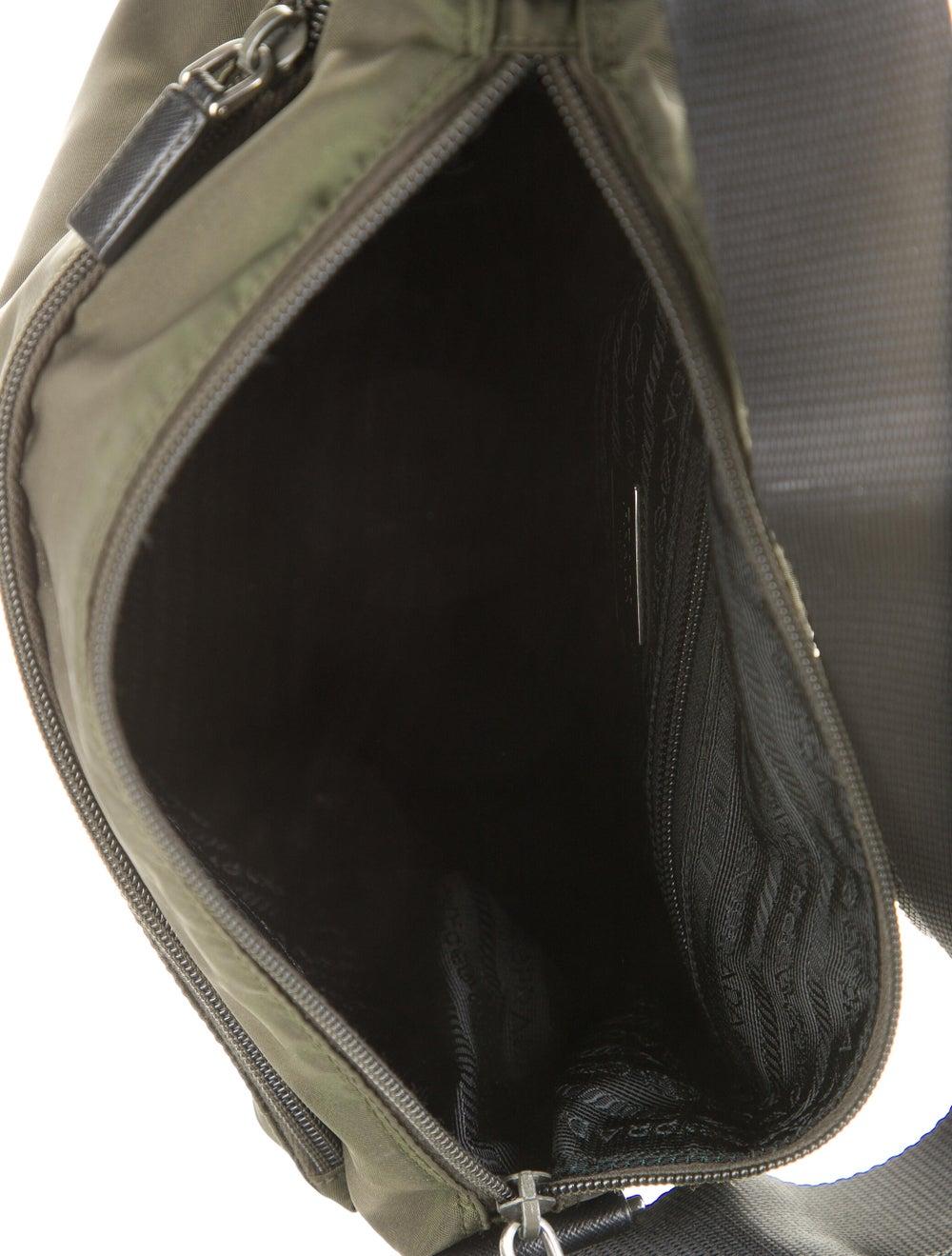 Prada Tessuto Messenger Bag Green - image 5