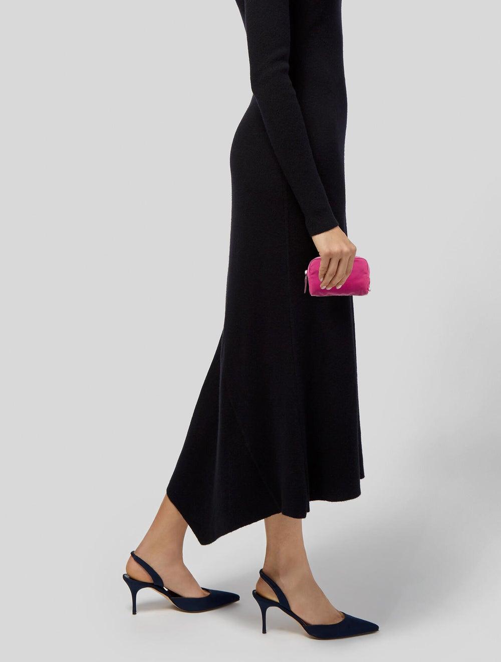 Prada Tessuto Cosmetic Bag Pink - image 2