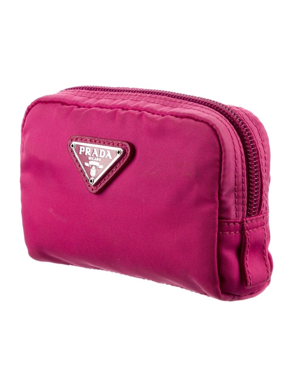 Prada Tessuto Cosmetic Bag Pink - image 3