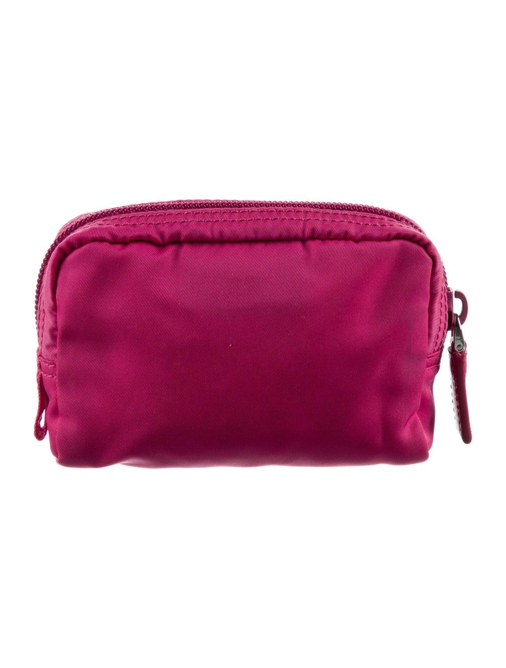 Prada Tessuto Cosmetic Bag Pink - image 4