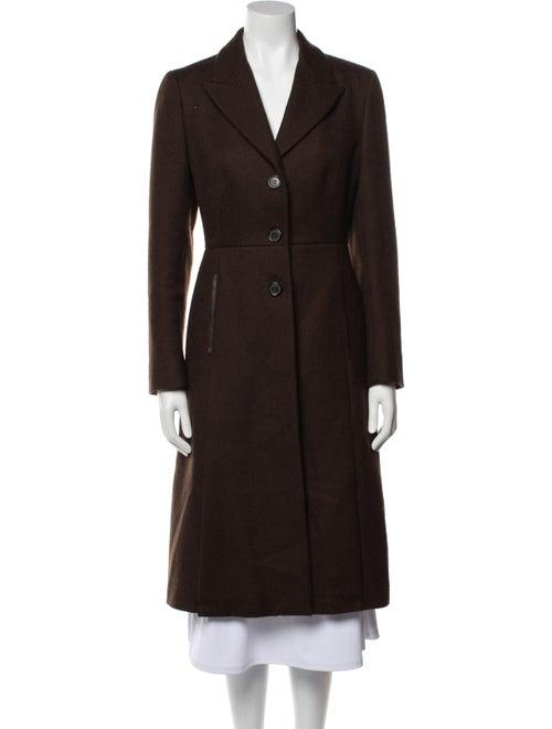 Prada Wool Peacoat Wool - image 1