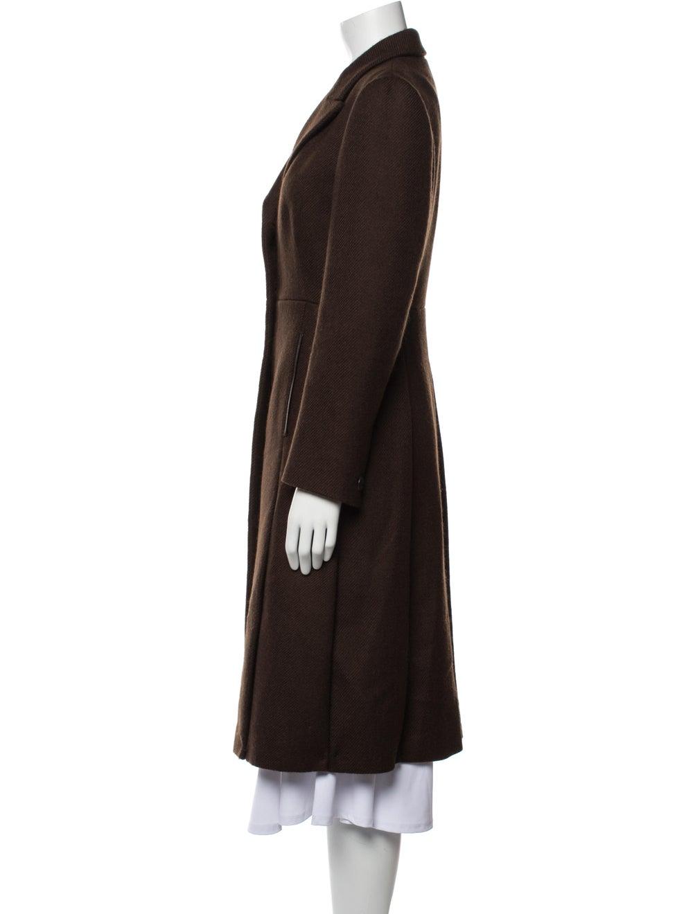 Prada Wool Peacoat Wool - image 2
