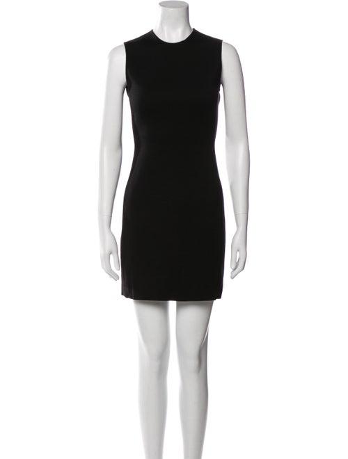 Prada Wool Mini Dress Wool - image 1