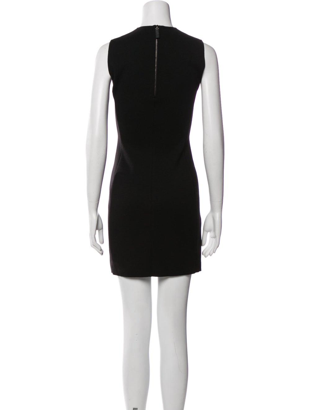 Prada Wool Mini Dress Wool - image 3