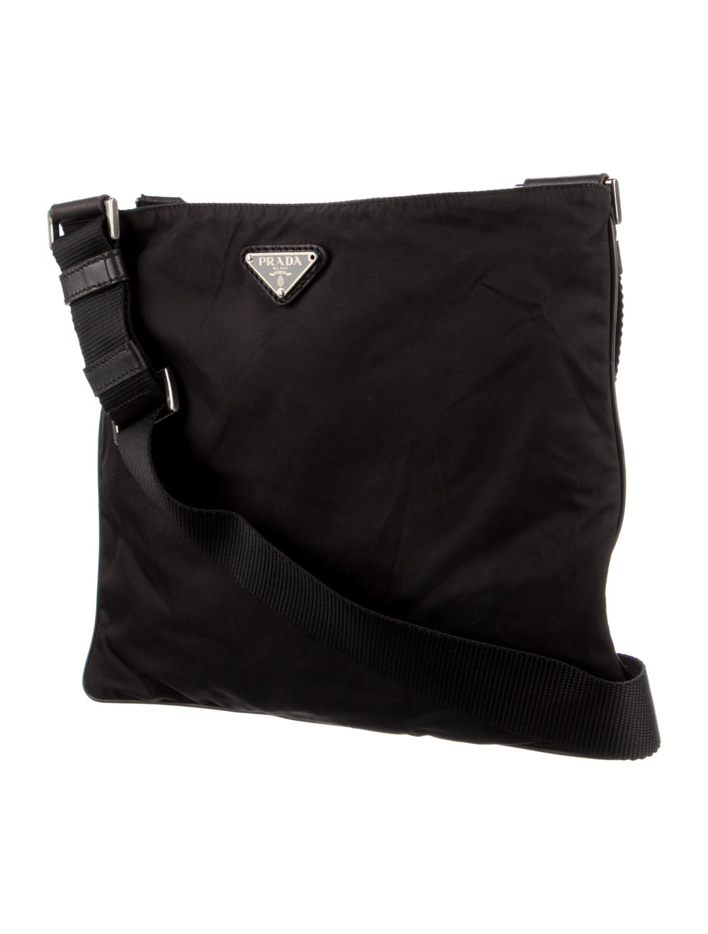 Prada Tessuto Messenger Bag Black - image 3