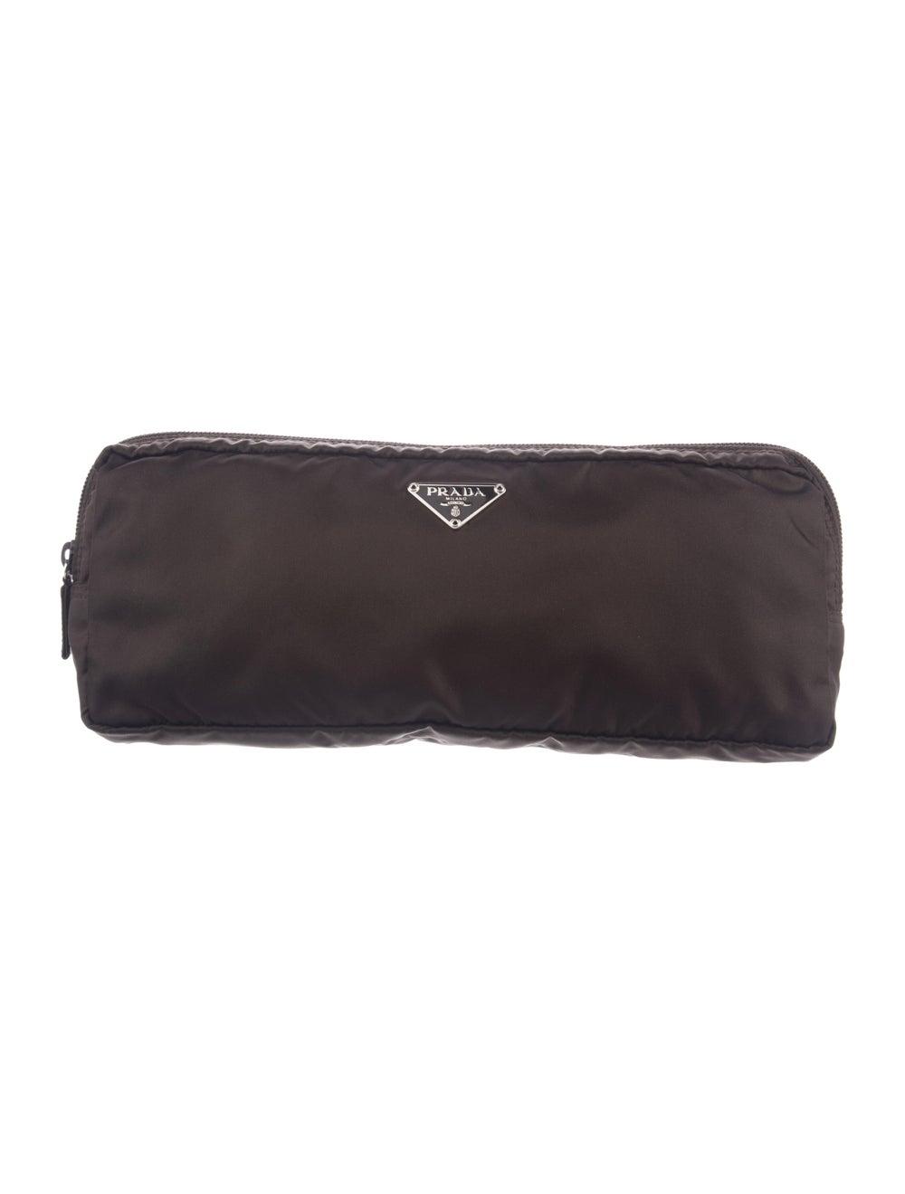 Prada Cosmetic Bag Brown - image 1